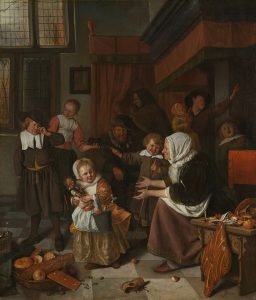 800px-Jan_Havicksz._Steen_-_Het_Sint_Nicolaasfeest_-_Google_Art_Project